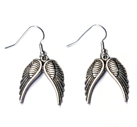 Angel Wings Pagan Style Earrings