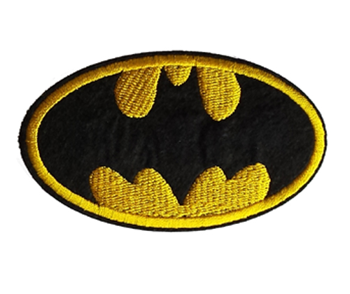 Iron On Batman Embroidered Patch