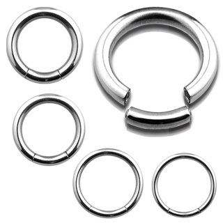 Seamless Segment Ring Piercing